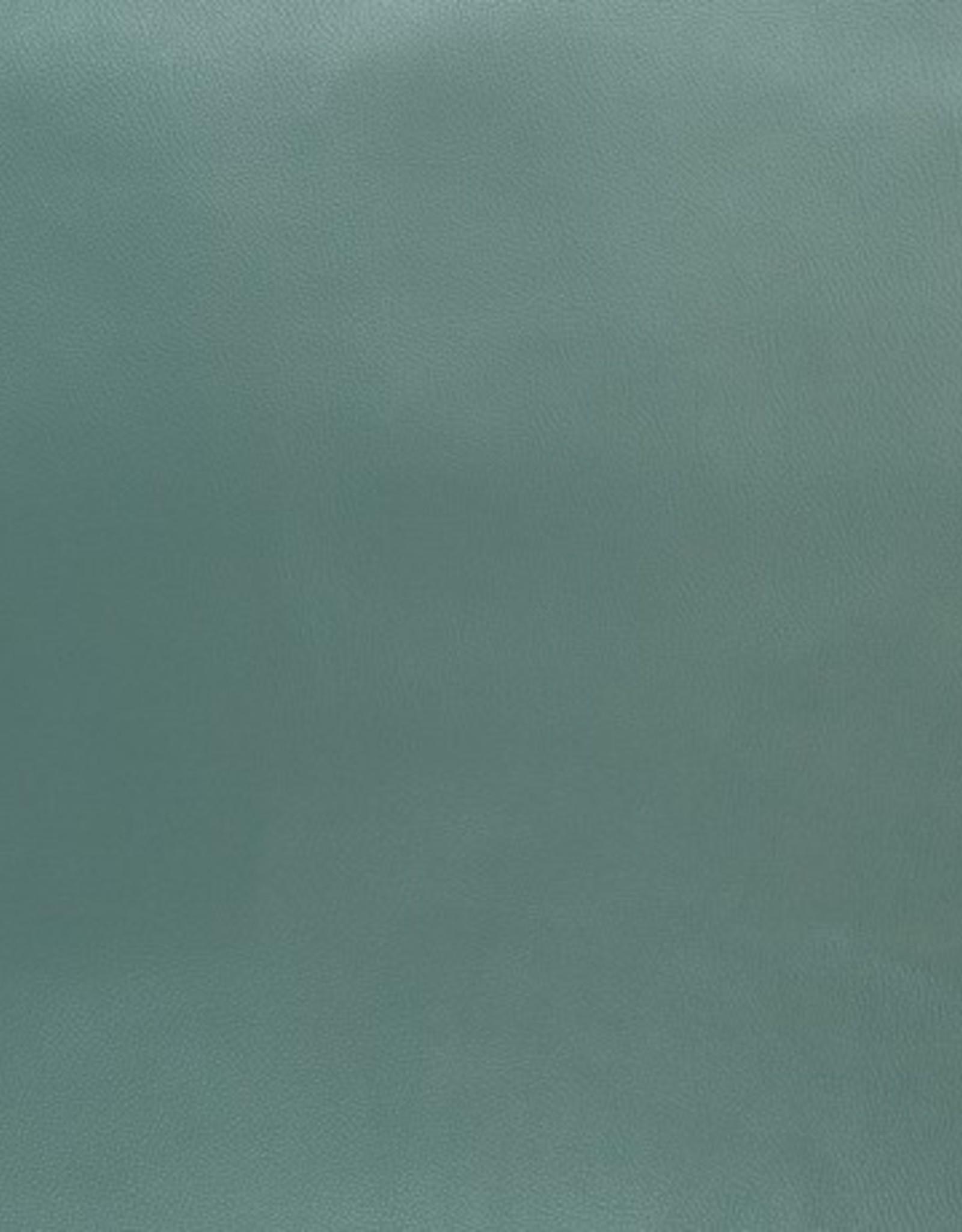 Faux leather appelblauwzeegroen