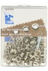 Nestelringen met gereedschap 4mm