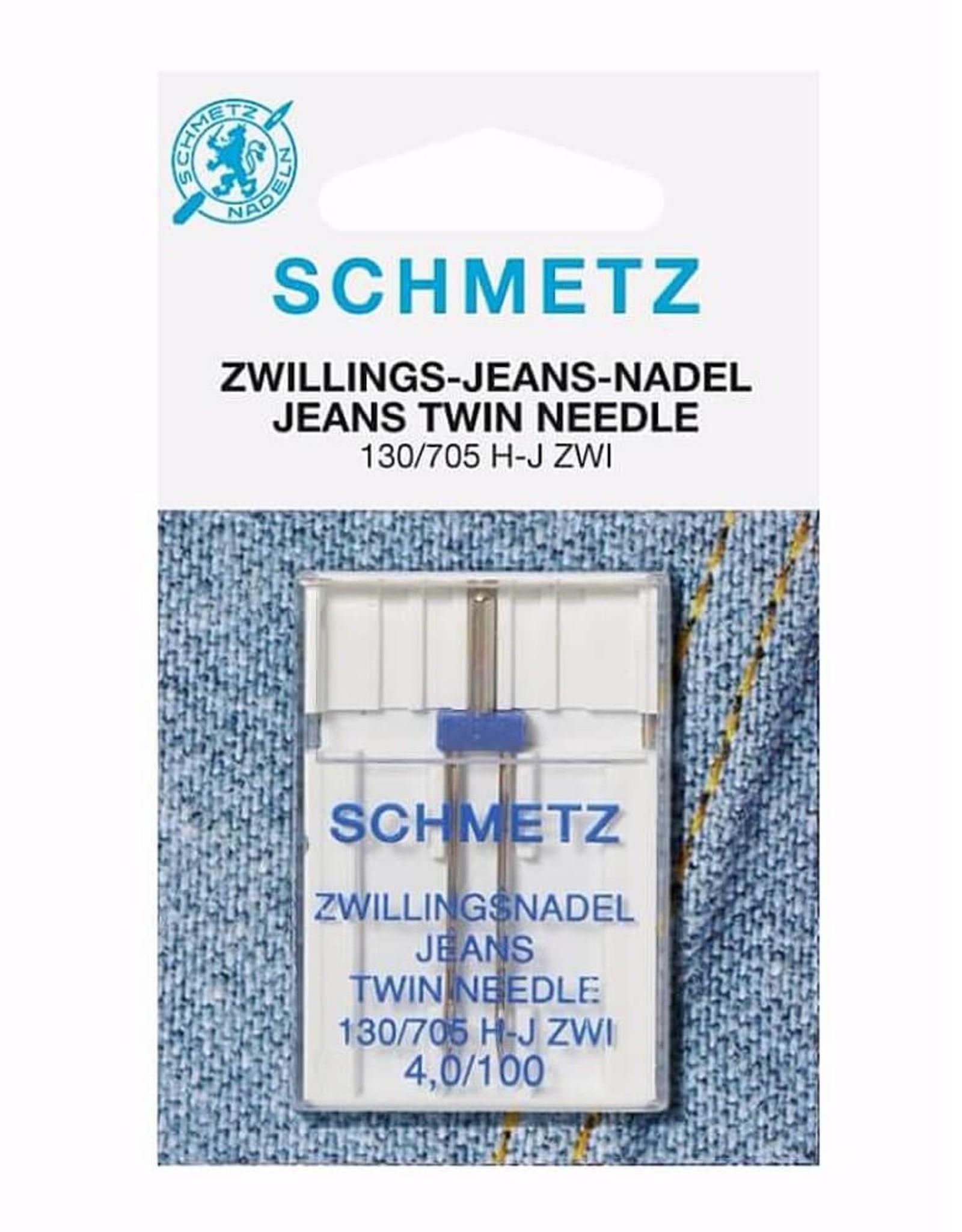 Tweelingnaald jeans 4.0-100