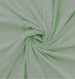 hydrofiel mint/gouden kroontjes