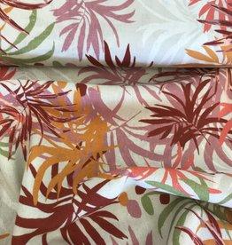 linnenviscose palm leafs
