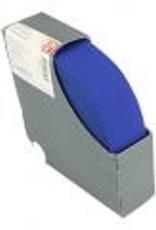 Taille-elastiek blauw 38mm