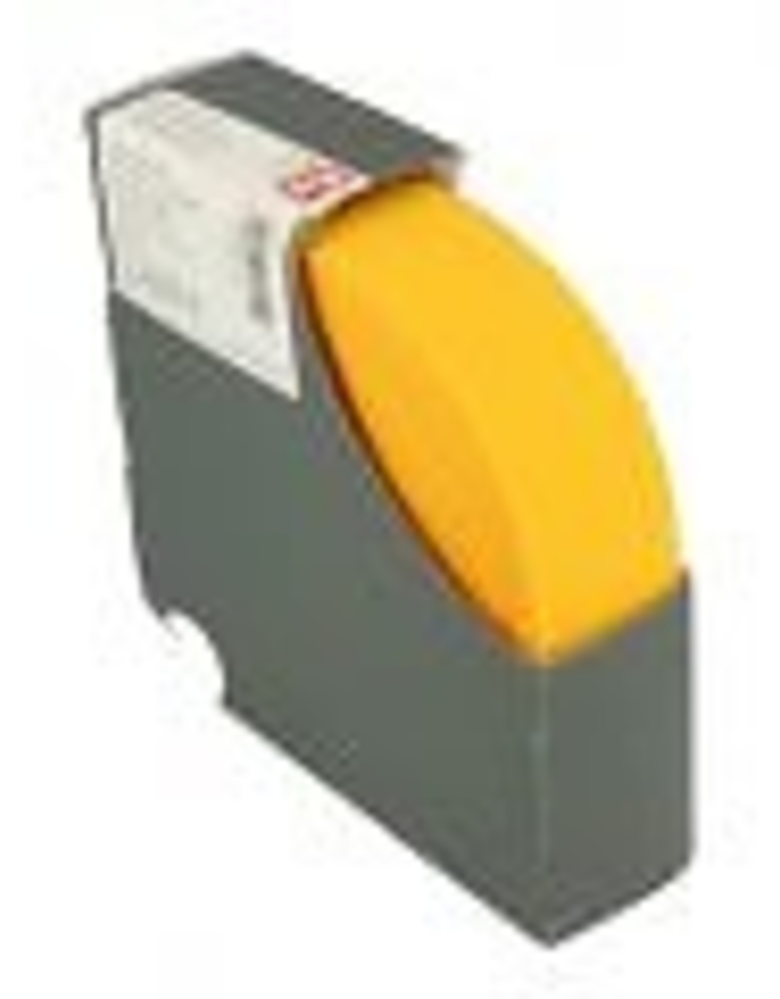 Taille elastiek geel 38 mm