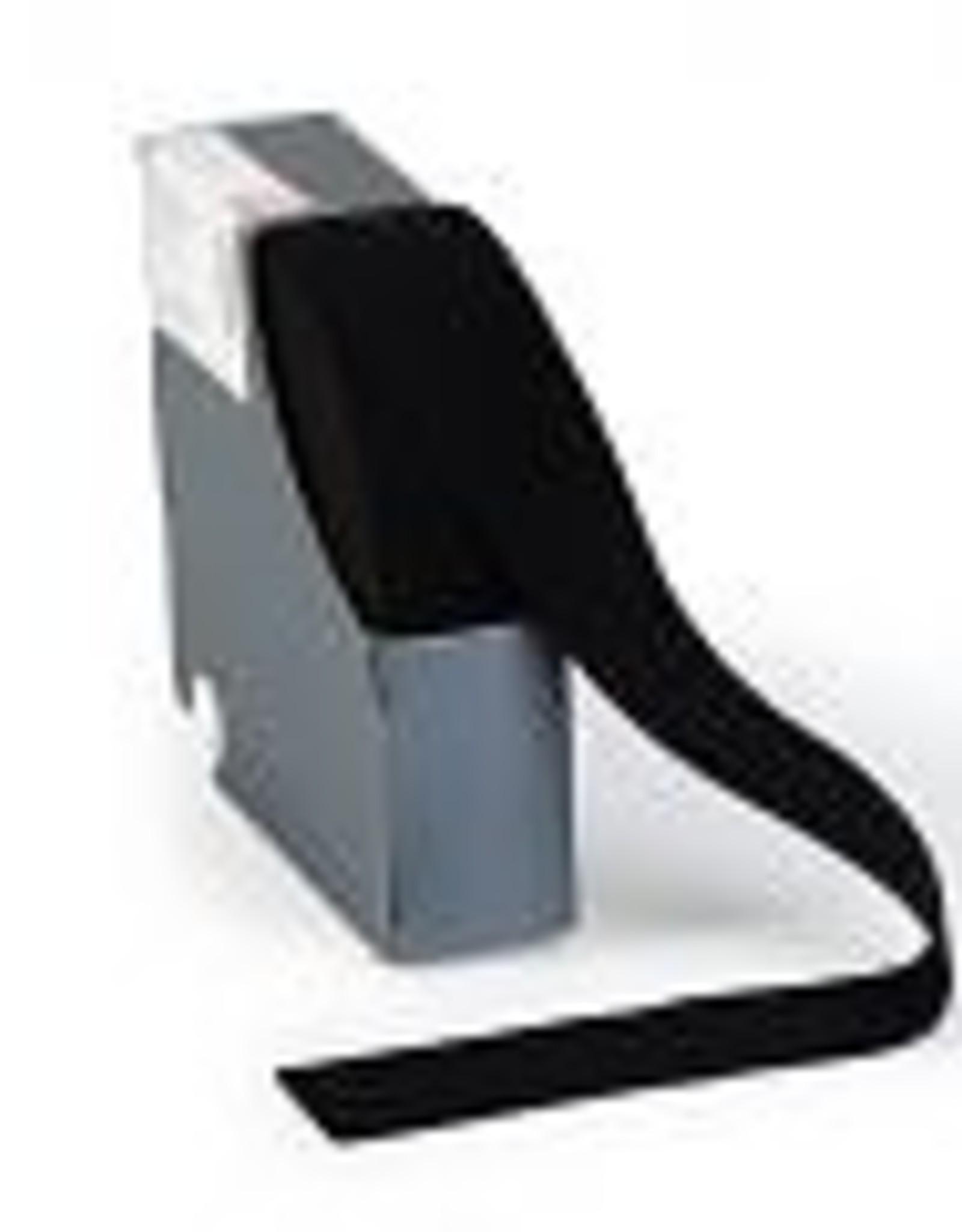 Taille-elastiek zwart 38mm
