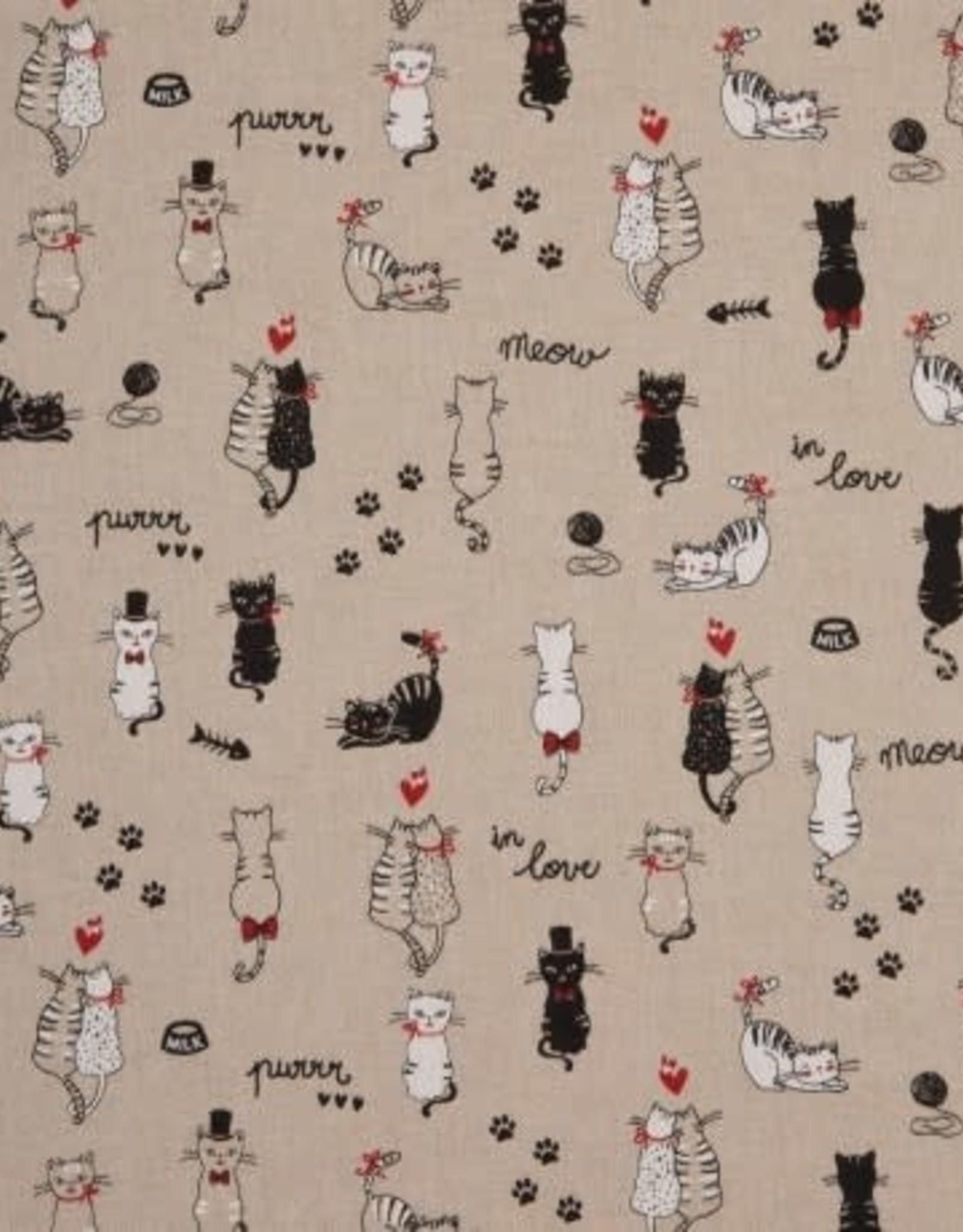 Linen like cats