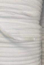 Gebroken wit rond elastiek 3mm (per meter)