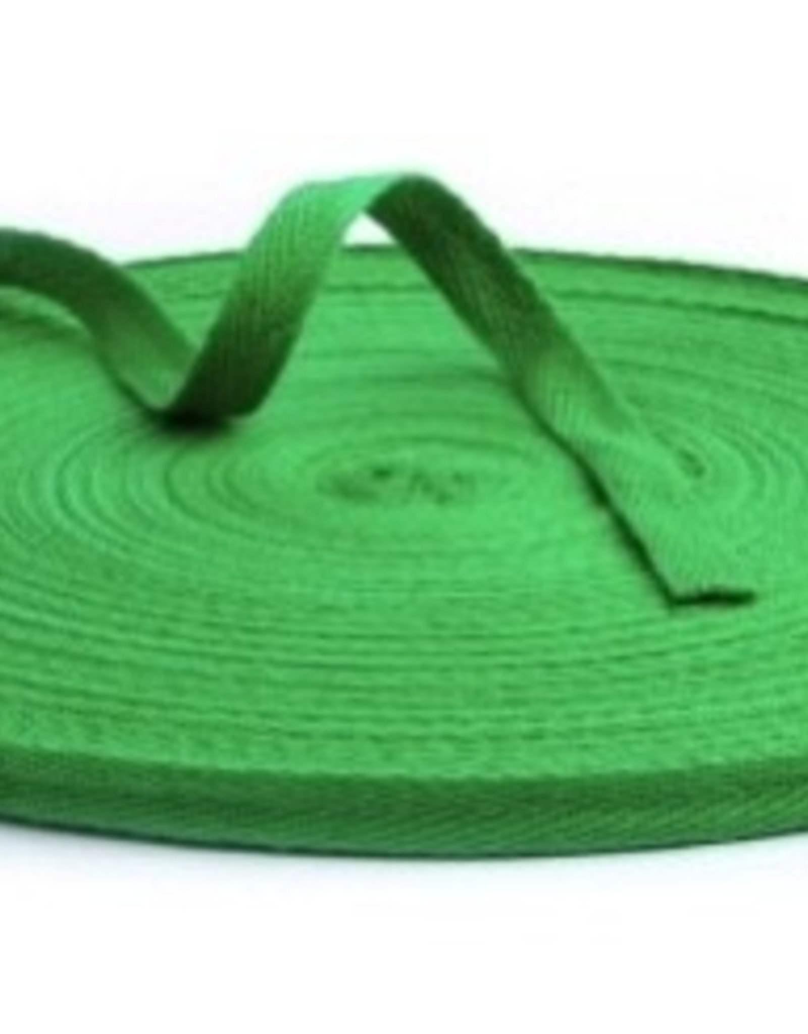 Keperband 10mm groen (per 45m)