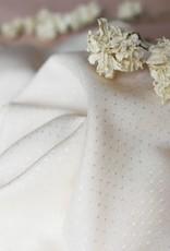 Atelier Brunette Dobby off-white viscose