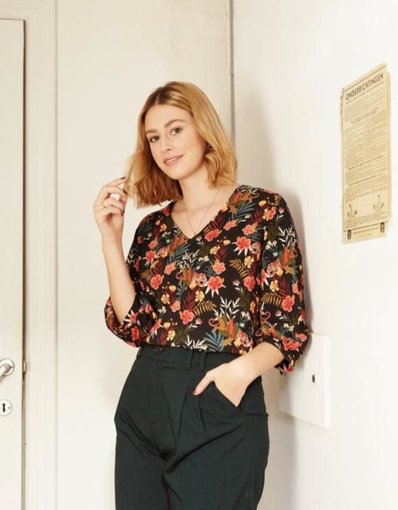 Zoey blouse
