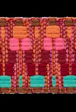 Tassenband roze bordeaux groen