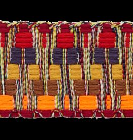 Tassenband bruin oranje