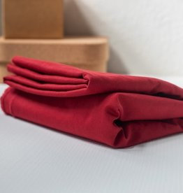 Mind the Maker Washed cotton Twill Ruby