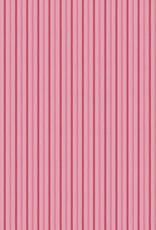 Katoen roze gestreept