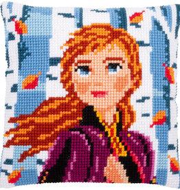 Kruissteekkussen Frozen2 Anna