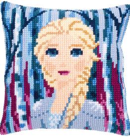 Kruissteekkussen Frozen2 Elsa