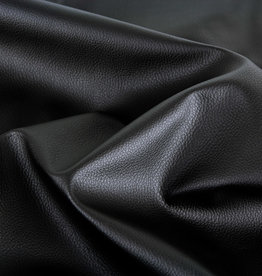 Faux leather zwart