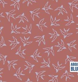 ABF Let me be a Wild bird crepe viscose