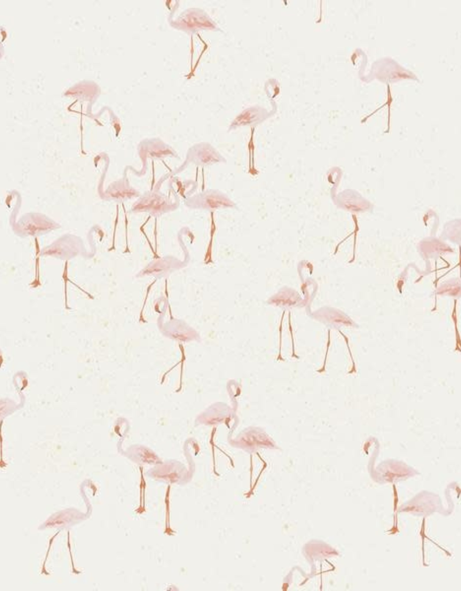 Family Fabrics Flamingo's