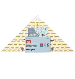 Omnigrid driehoek voor 1-4 kwadrant tot 20cm