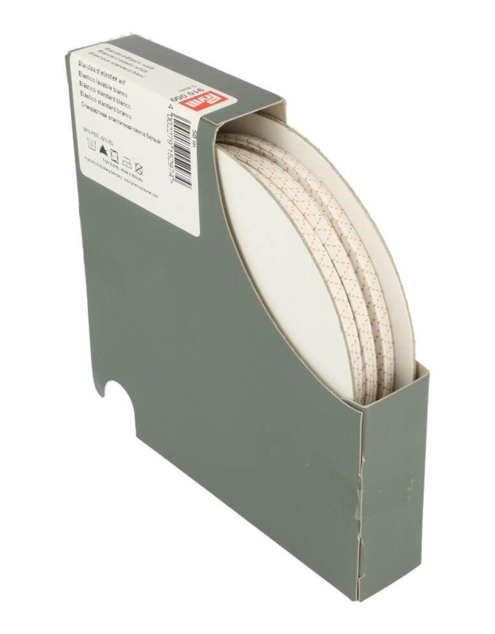 standaard elastiek wit 5mm per 10cm