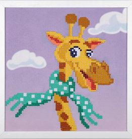 Diamond painting kit giraf