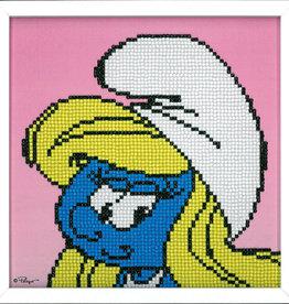 Diamond painting  kit De smurfen smurfin