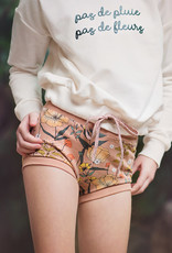 SYAS FT Summer Flowers camel brown