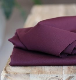 Meet Milk Plain ponte knit maroon