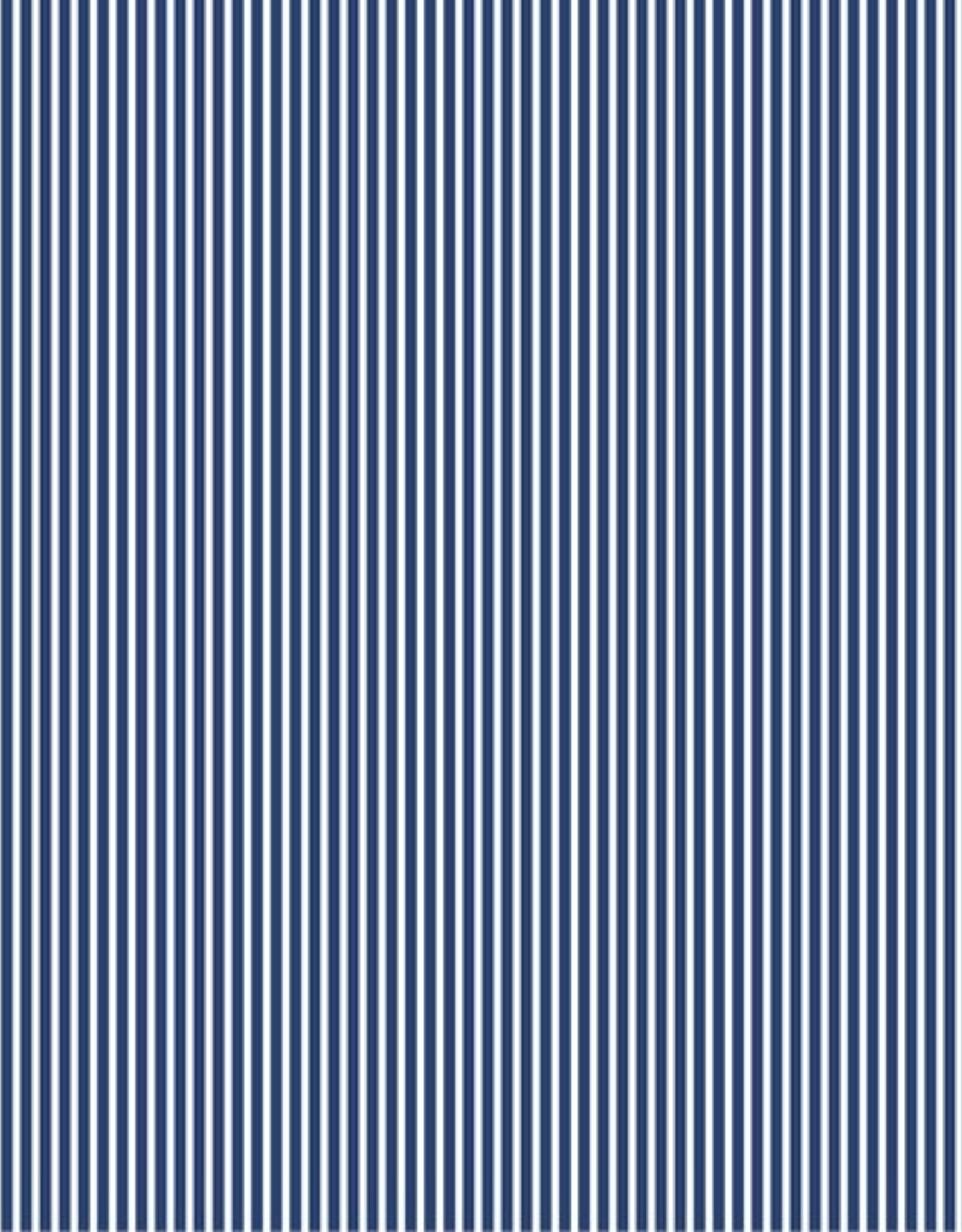 Poplin stripes cobalt