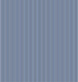 Poplin stripes cobalt