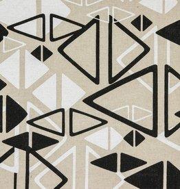 Canvas linnenlook driehoeken
