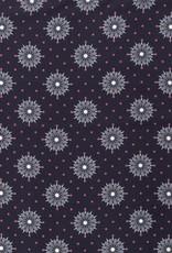 Dark blue stars and dots