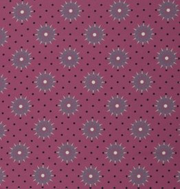 Fuchsia stars and dots