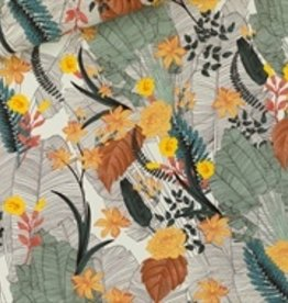SYAS Tropic Flowers viscose