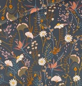 SYAS Flower Field gabardine