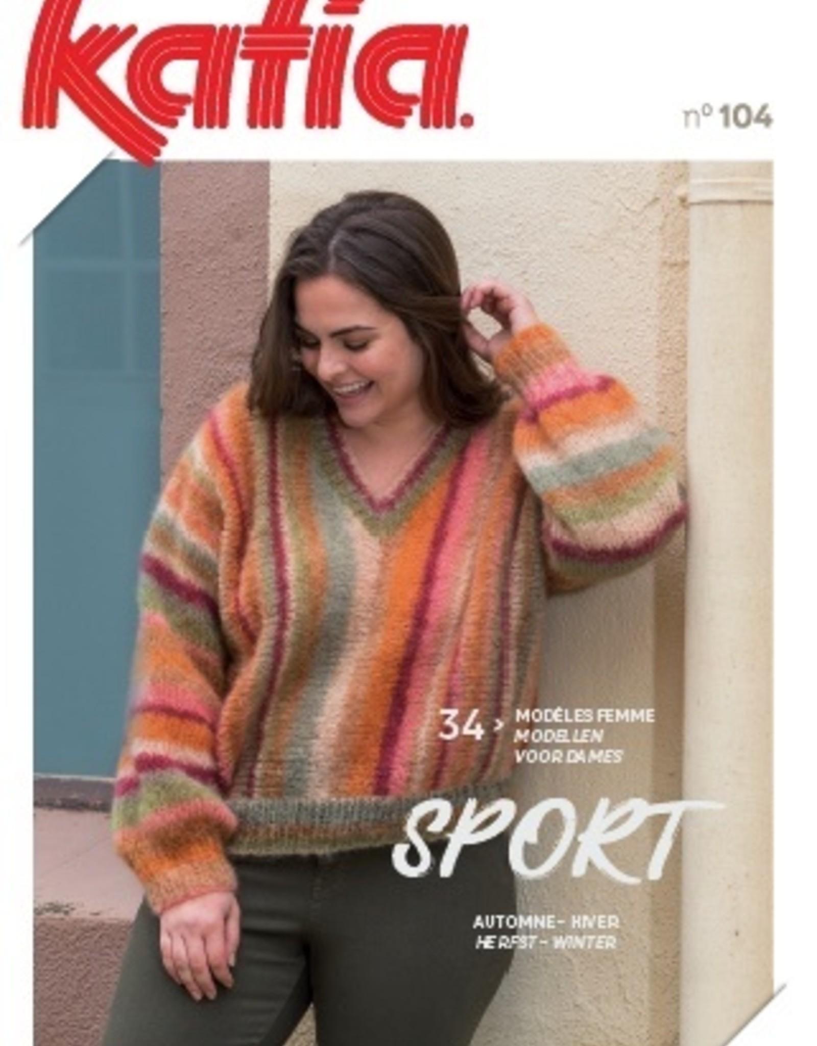 Katia Patronenboek Sport 104