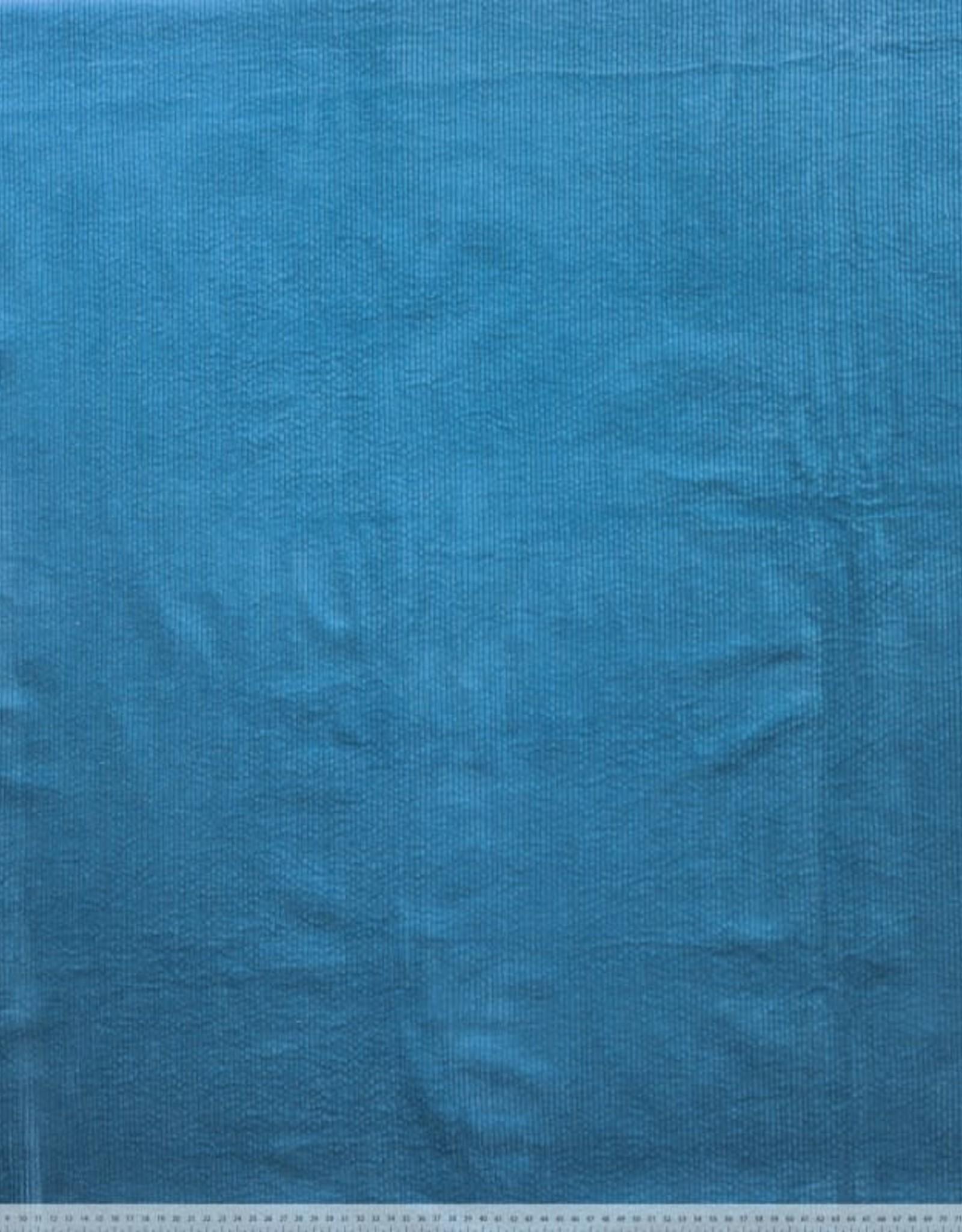 Corduroy bubble wash delphinium blue