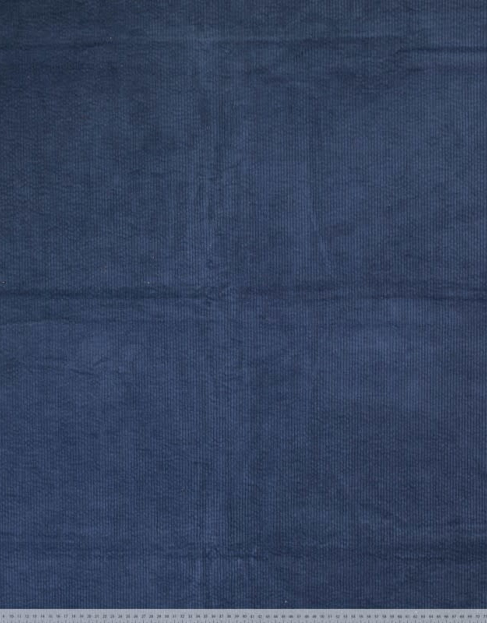 Corduroy bubble wash dark denim
