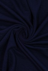 Knit quilted donkerblauw