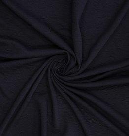 Knit quilted zwart