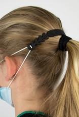 Siliconen oorbeschermers zwart