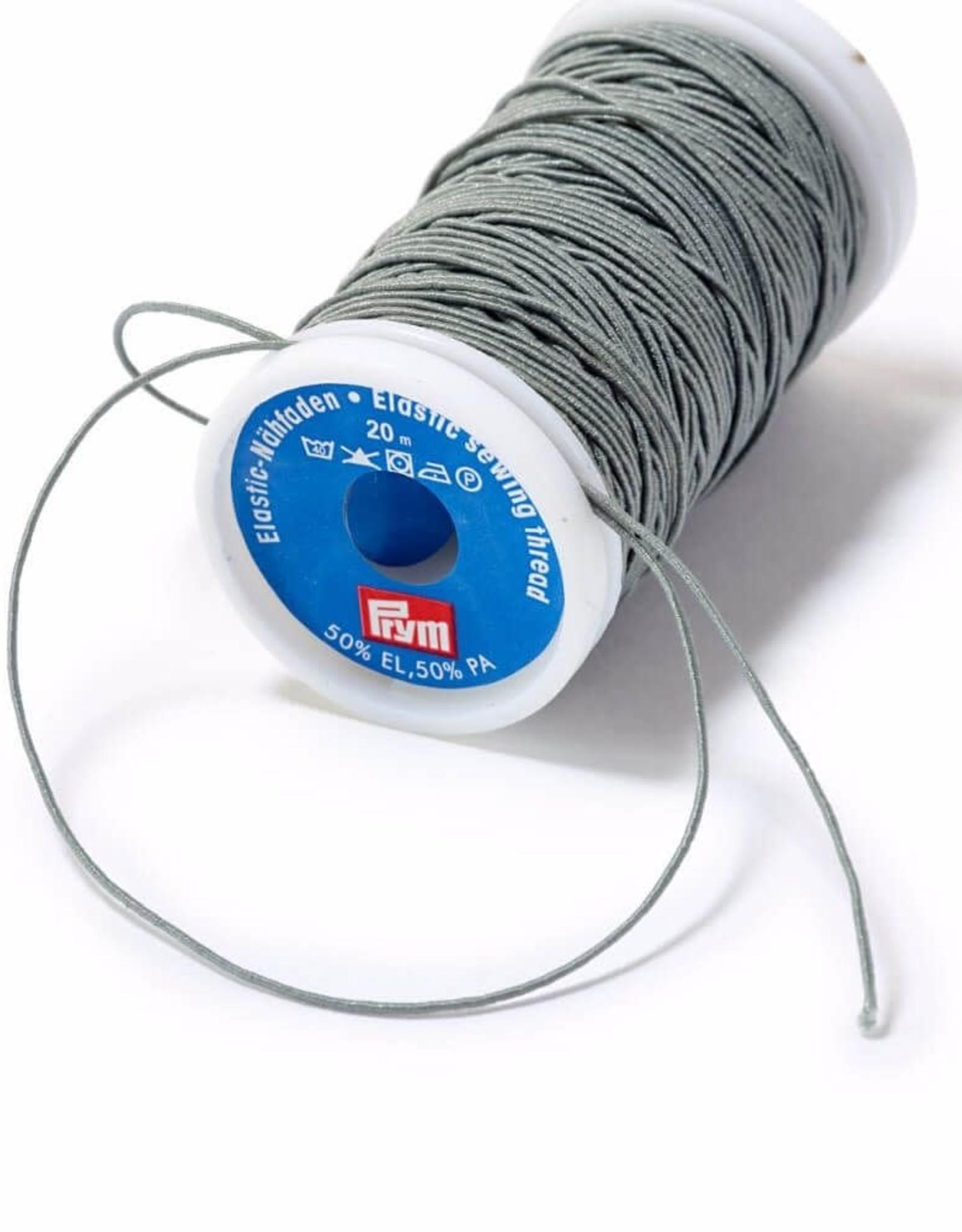 Prym elastisch naaigaren 0.5mm grijs