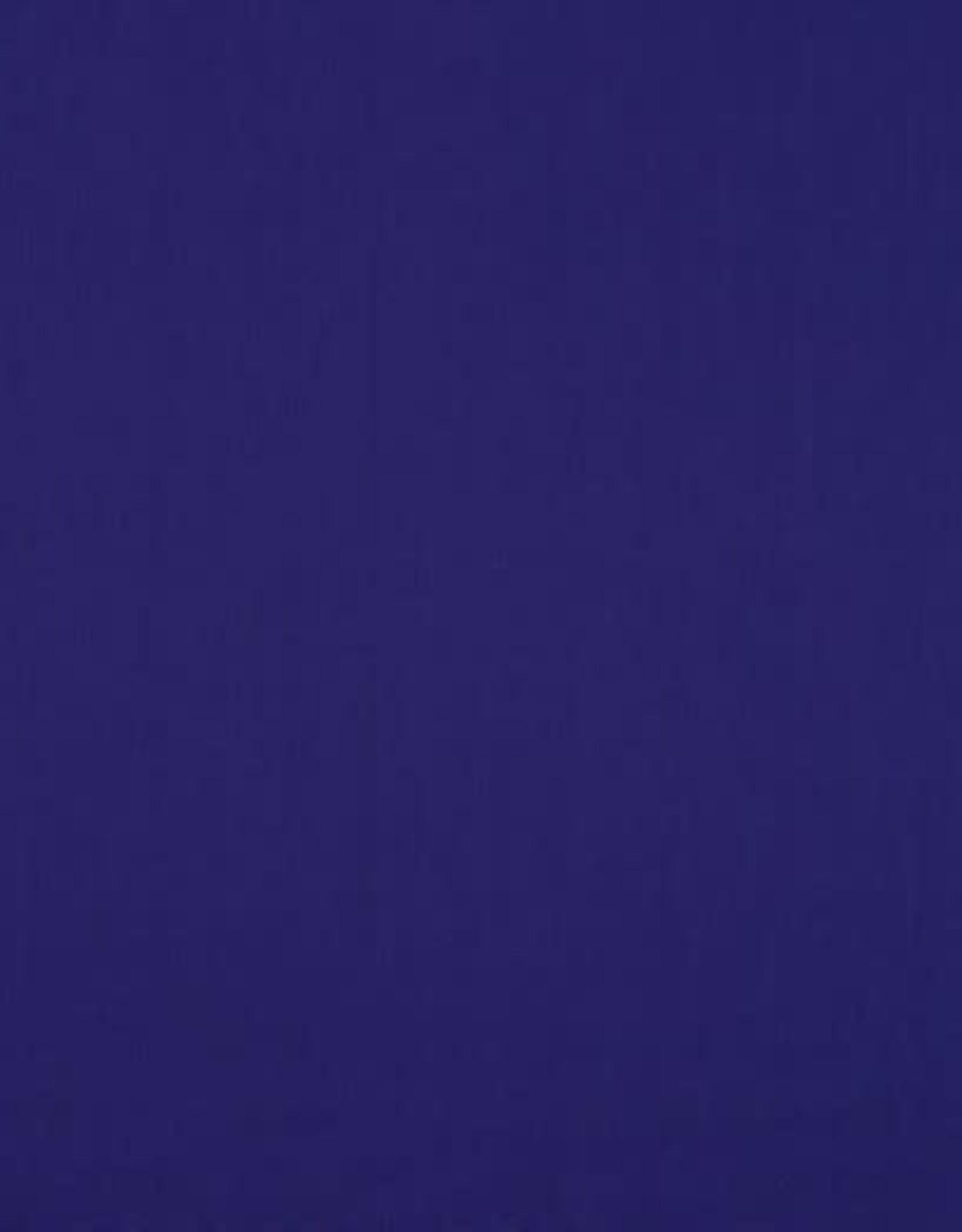 Effen katoen dark cobalt