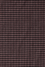 Tricot abstract bordeaux
