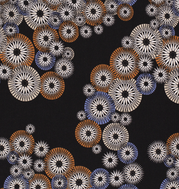 Viscose abstract cirkels