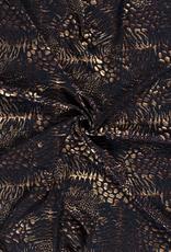 Foiljersey dieren cobalt