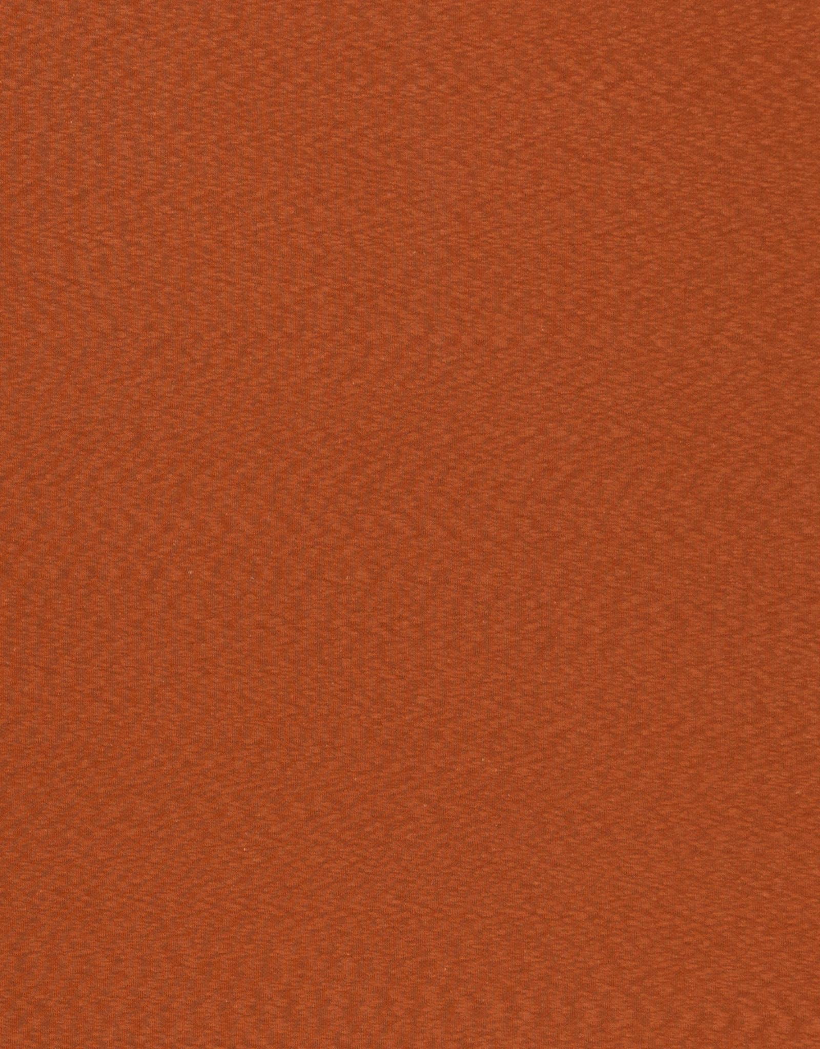 Slub jacquard oranje