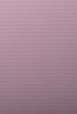 Interlock gestreept roze