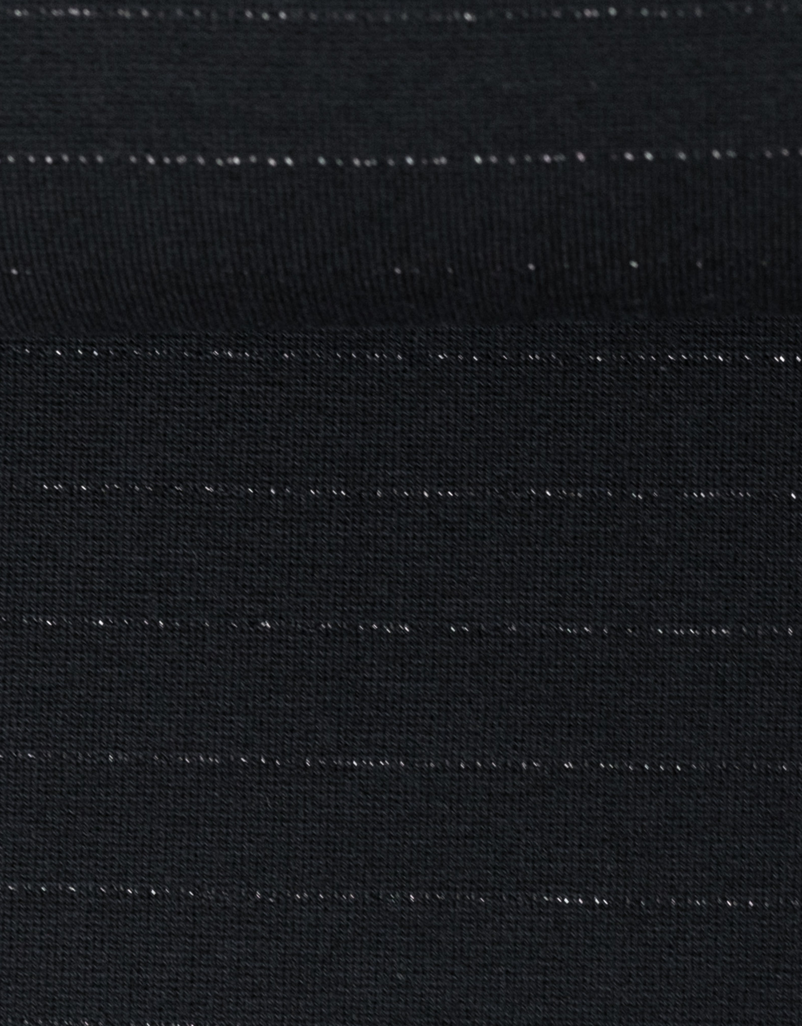 Interlock gestreept zwart
