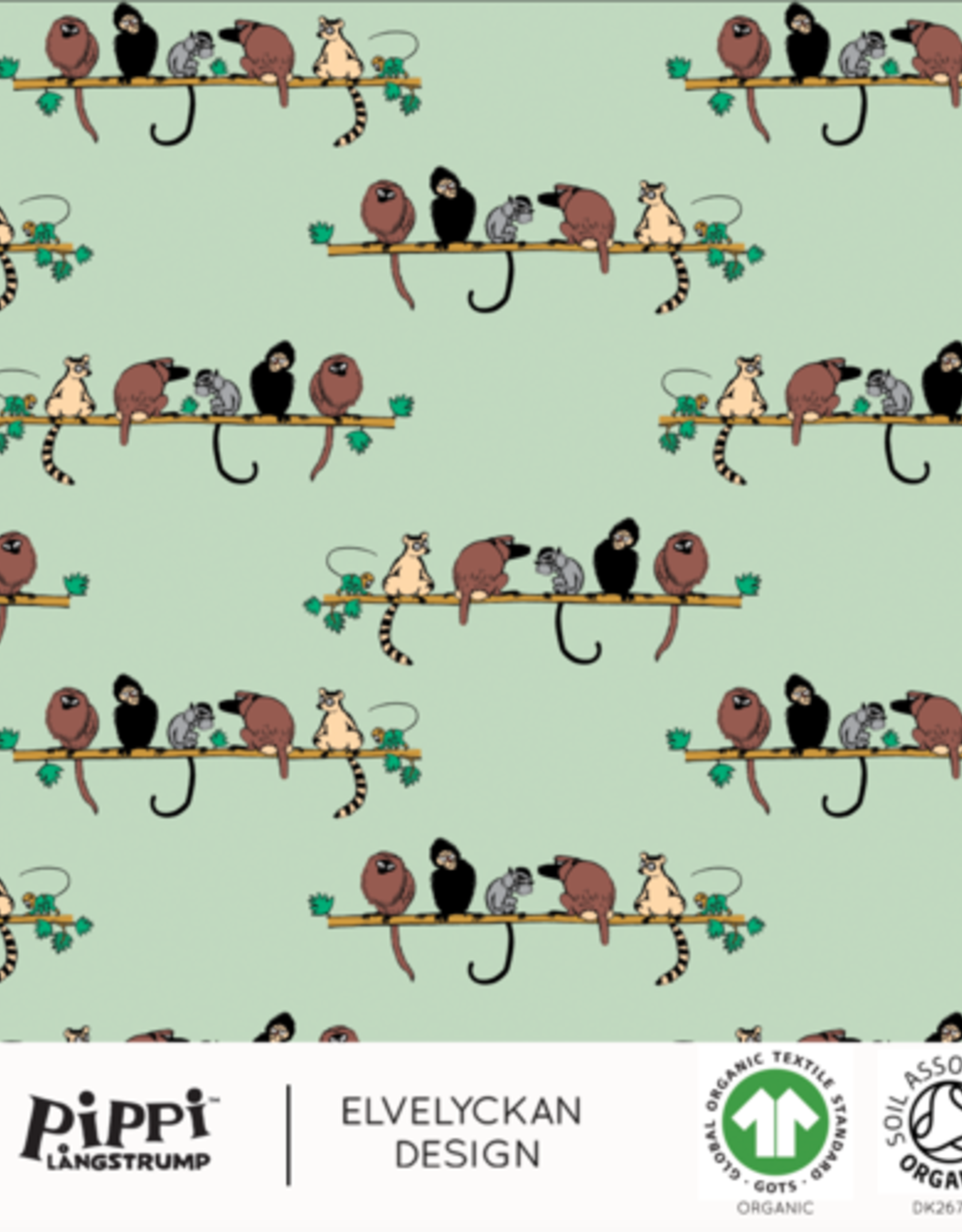 Bio Pipi monkey neo mint